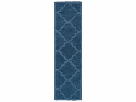 Surya Central Park Navy Runner Area Rug
