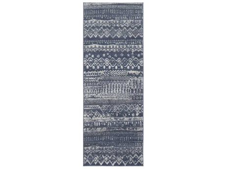 Surya City Charcoal / Taupe / Light Gray Runner Area Rug
