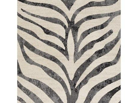 Surya City Taupe / Light Gray / Black Square Sample