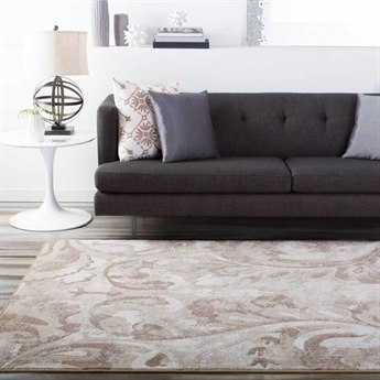 Surya Contempo Rectangular White Area Rug SYCPO3706REC