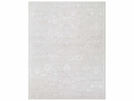 Surya Contempo Rectangular Light Gray, White & Medium Gray Area Rug