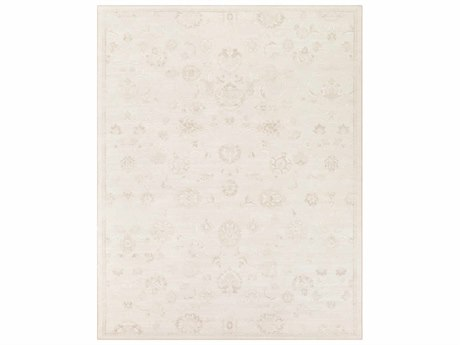 Surya Contempo Rectangular Cream, White & Dark Brown Area Rug