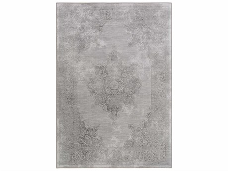 Surya Contempo Medium Gray / Light Runner Area Rug