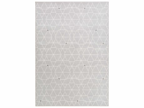 Surya Contempo Light Gray / White Medium Runner Area Rug