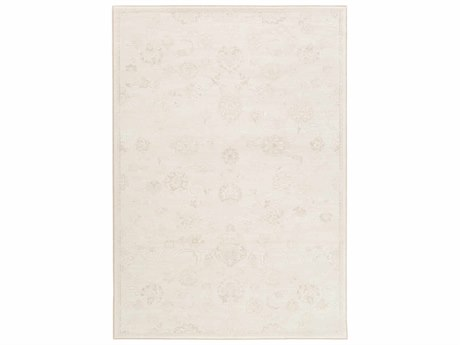 Surya Contempo Cream / White Dark Brown Runner Area Rug
