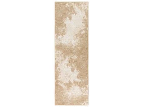 Surya Contempo Beige / White Tan Runner Area Rug