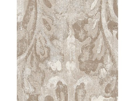 Surya Contempo White / Cream Dark Brown Khaki Square Sample