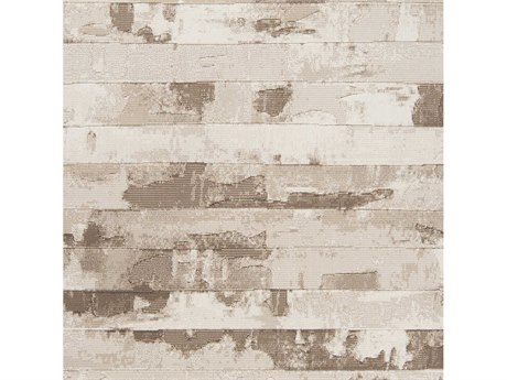 Surya Contempo White / Cream Dark Brown Square Sample