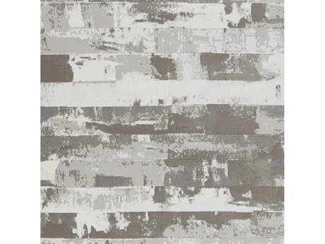 Surya Contempo Dark Brown / White Cream Black Square Sample