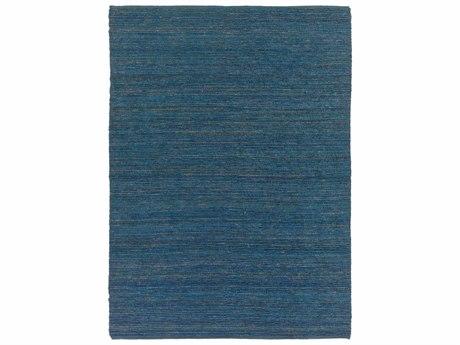 Surya Continental Rectangular Blue Area Rug
