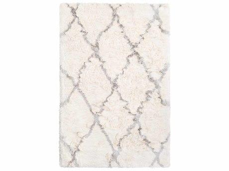 Surya Corsair Cream / Light Gray Rectangular Area Rug