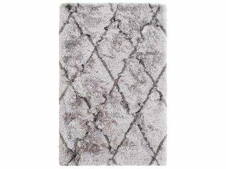 Surya Corsair Light Gray / Charcoal Rectangular Area Rug