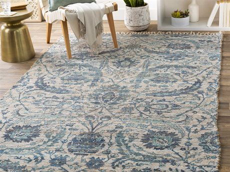 Surya Coventry Camel / Navy Rectangular Area Rug