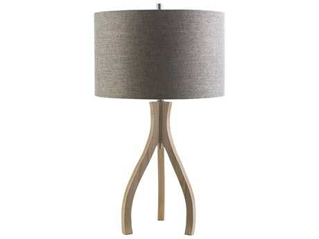 Surya Duxbury Natural Wood Table Lamp SYDXB771TBL
