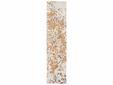 Surya Egypt Cream / Dark Brown Mustard Runner Area Rug