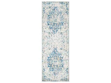 Loloi Rugs Anastasia Af 14 Rectangular Light Blue Ivory
