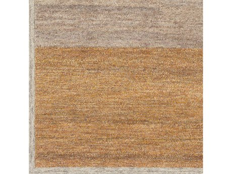 Surya Equilibrium Ivory / Burnt Orange / Camel / Mauve Square Sample