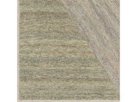 Surya Equilibrium Ivory / Bright Pink / Sage / Tan Square Sample
