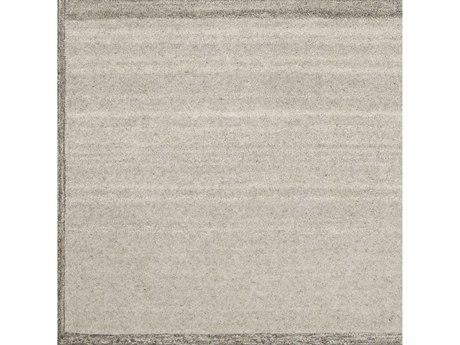 Surya Equilibrium Taupe / Cream Dark Brown Beige Square Sample
