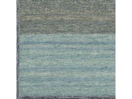 Surya Equilibrium Tan / Medium Gray / Dark Blue / Sage Square Sample
