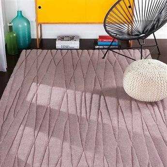 Surya Etching Lavender Rectangular Area Rug