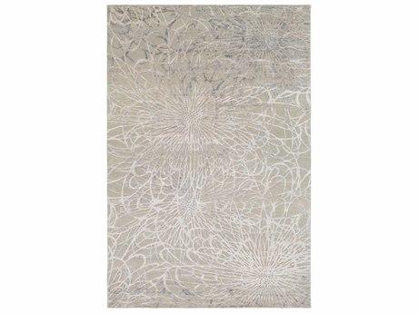 Surya Etienne Rectangular Sea Foam & Light Gray Area Rug