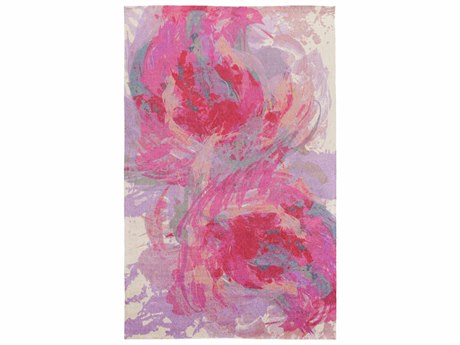 Surya Felicity Rectangular Hot Pink Area Rug SYFCT8002REC