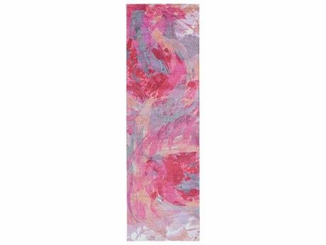 Surya Felicity 2'6'' x 8' Rectangular Hot Pink Runner Rug