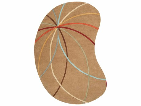Surya Forum Kidney Beige Area Rug SYFM7140KID