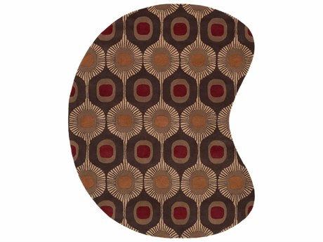 Surya Forum Kidney Gray Area Rug SYFM7170KID