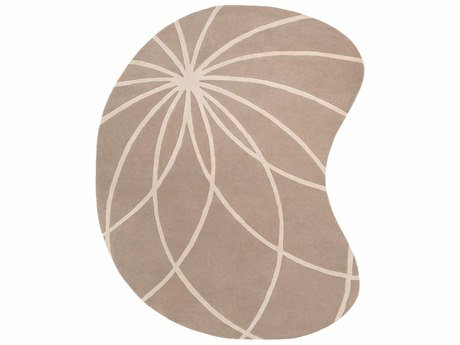 Surya Forum Kidney Beige Area Rug SYFM7185KID