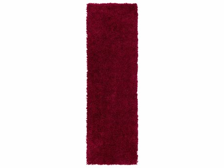 Surya Goddess 2'6'' x 8' Rectangular Burgundy Runner Rug