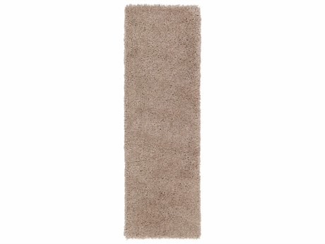 Surya Goddess 2'6'' x 8' Rectangular Tan Runner Rug