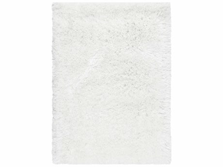 Surya Grizzly Rectangular White Area Rug