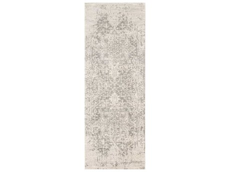 Surya Harput Charcoal / Light Gray Beige Runner Area Rug