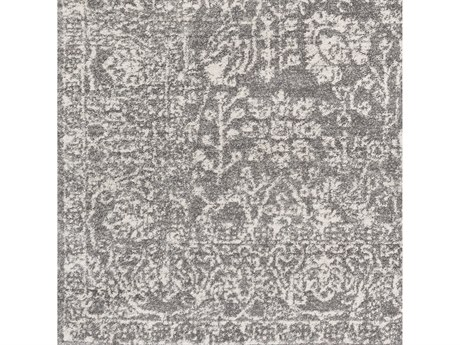 Surya Harput Charcoal / Light Gray Beige Square Sample
