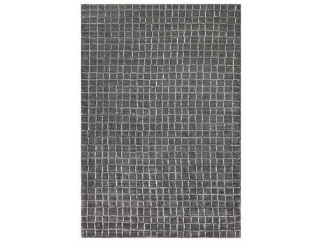 Surya Hightower Charcoal / White Rectangular Area Rug