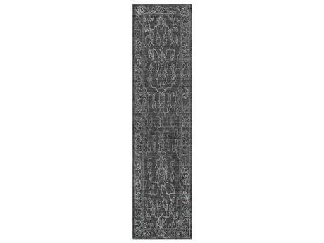 Surya Hightower Charcoal / Light Gray Runner Area Rug