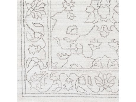 Surya Hightower Ivory / Taupe Square Sample