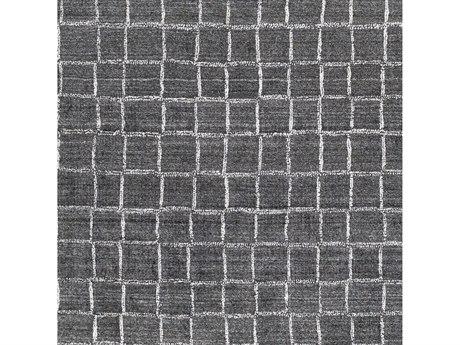 Surya Hightower Charcoal / White Square Sample
