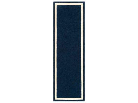 Surya Holden Dark Blue / White Runner Area Rug