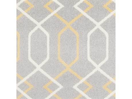 Surya Horizon Medium Gray / Wheat Cream Square Sample