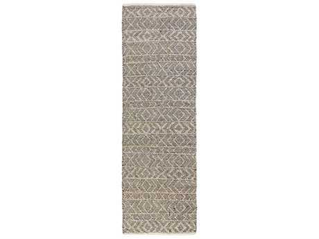 Surya Ingrid 2'6'' x 8' Rectangular Light Gray Runner Rug