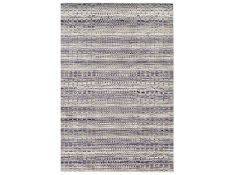 Surya Italia Light Gray / Navy Butter Dark Brown Medium Rectangular Area Rug