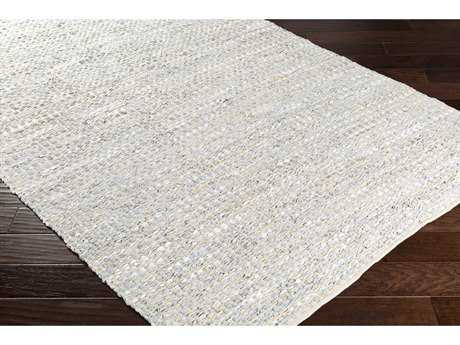 Surya Jamie Rectangular Silver Gray, Sage & Pale Blue Area Rug SYJMI8005REC