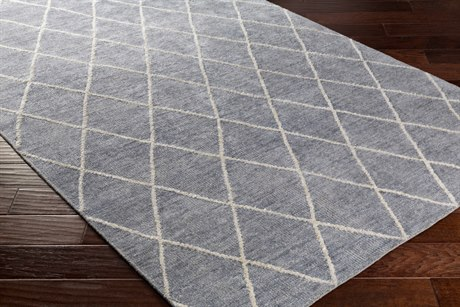 Surya Jaque Rectangular Medium Gray & Ivory Area Rug SYJAQ4001REC