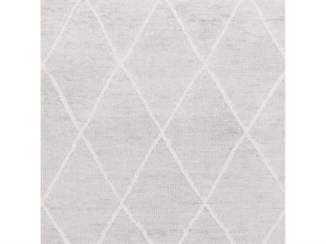 Surya Jaque Light Gray / Ivory Square Sample