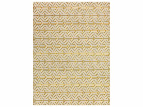 Surya Jax Rectangular Gold Area Rug
