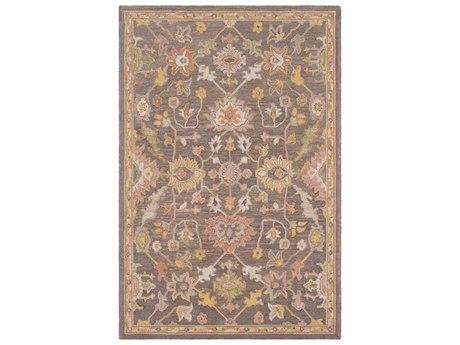 Surya Joli Camel / Olive Taupe Khaki Ivory Rectangular Area Rug