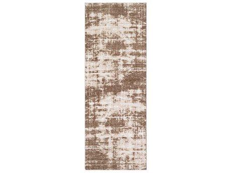 Surya Kilim Dark Brown / Cream Runner Area Rug